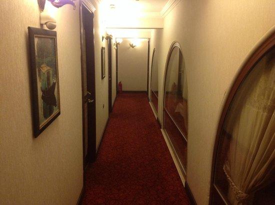 Oglakcioglu Park Boutique Hotel: Rooms Corridor