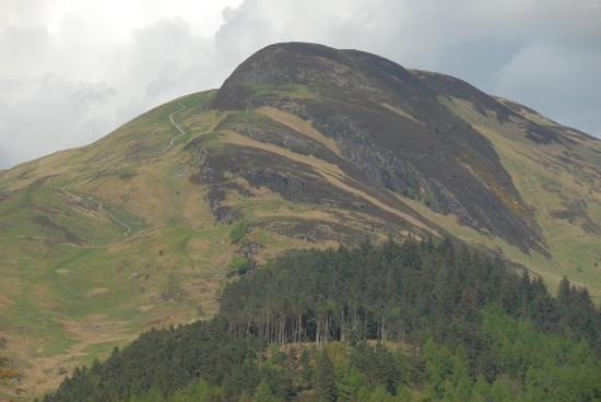 Balmaha, UK: Conic Hill from Loch Lomond