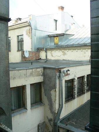 Hotel Metropolis : view