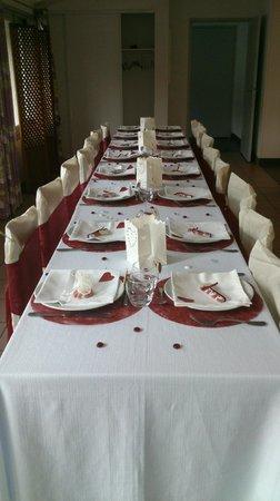 Hotel Achafla Baita : Table des enfants