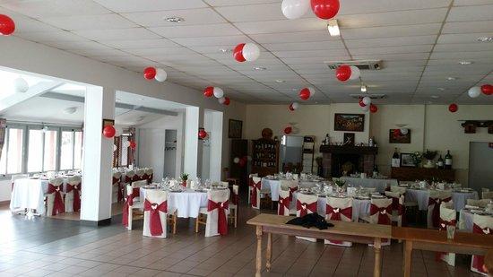 Hotel Achafla Baita : Salle mariage