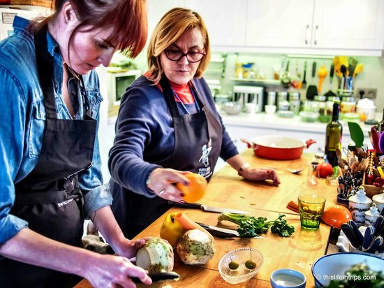 Turkish Flavours: In teh kitchen with Selin