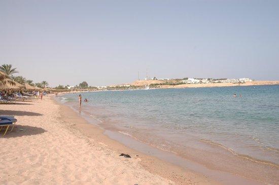 Hilton Sharm El Sheikh Fayrouz Resort : вид с пляжа вокруг