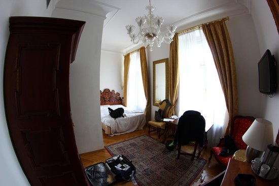 Charles Bridge Palace : chambre