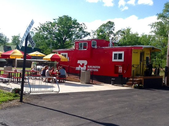 Little River Ice Cream : The Little River Caboose
