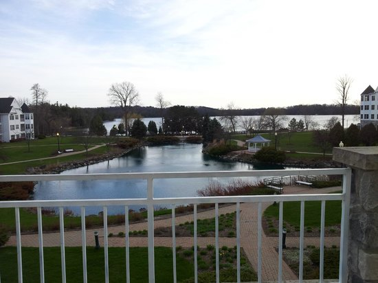 The Osthoff Resort : View from motel