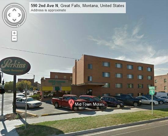 Midtown Motel: Convenience and a great place for those who like short trips downtown.