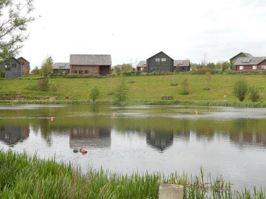Bluestone National Park Resort: Over the lake
