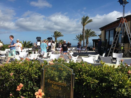 R2 Rio Calma Hotel & Spa & Conference: Lunch terrace not accessible for guests