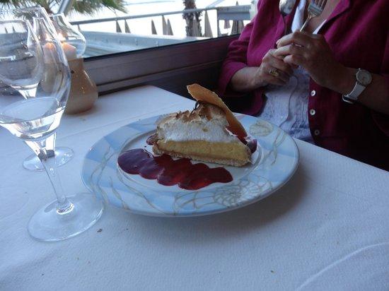 Bijou Plage : tarte au citron meringuée délicieuse