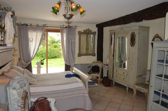 Le Clos Saint Fiacre: chambre Marie Antoinette