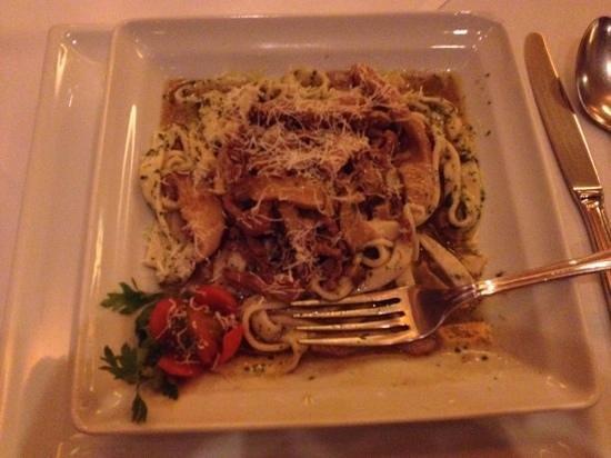 Provincia Di Salerno: fetuttine shitake e filet, massa perfeita