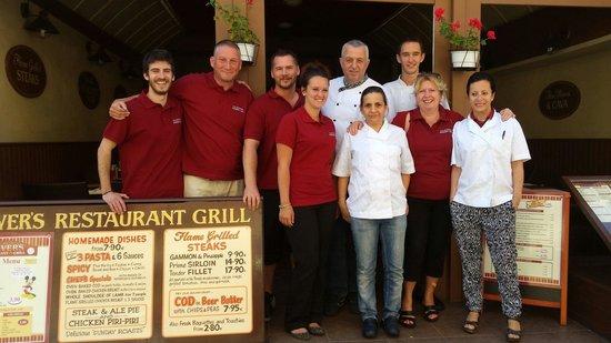 Olivers Restaurant: The Team 2014