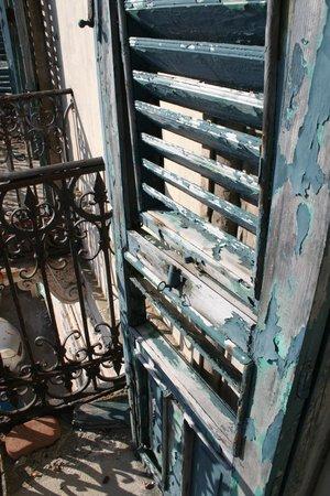 Aurora Hotel - B&B Airone: The balcony