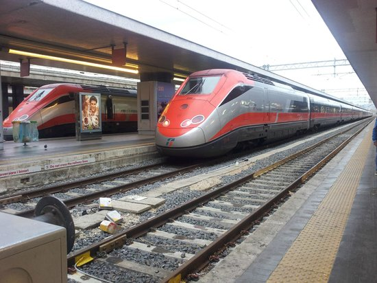 Stazione Termini: High speed train