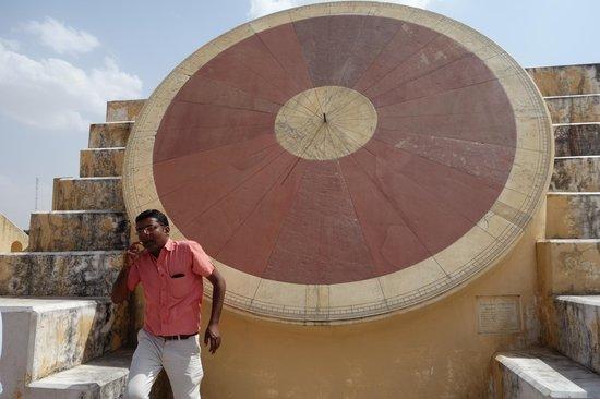 Jantar Mantar - Jaipur: sundial