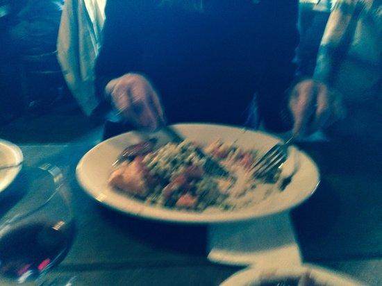 The Casino Bar & Grill: Wild salmon