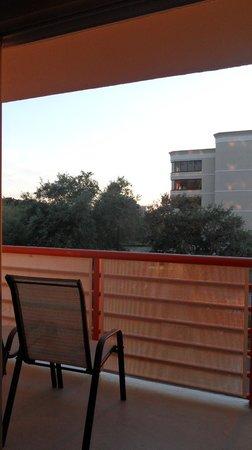 Comfort Inn Orlando/ Lake Buena Vista: Vista desde el balcón
