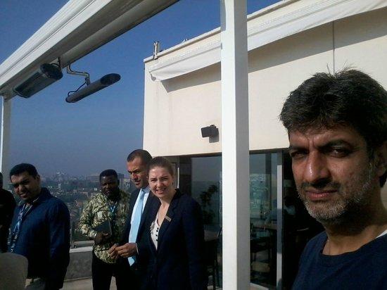 Conrad Istanbul Bosphorus: Roof top restaurant