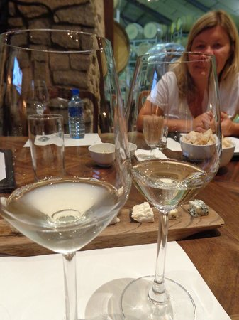Cape Fusion Tours - Day Tours: Wine samples at Fairview winery