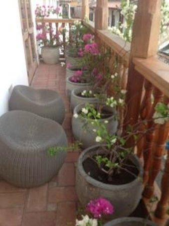 Hotel Casa San Agustin : Our balcony