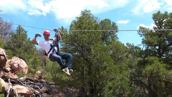 Royal Gorge Zip Line Tours : so much fun