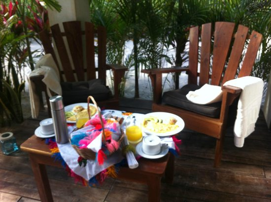 My Way Boutique Hotel: Famous breakfast