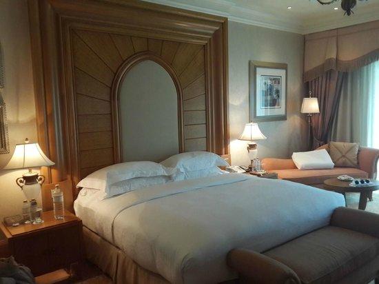Emirates Palace: Hotel Bedroom