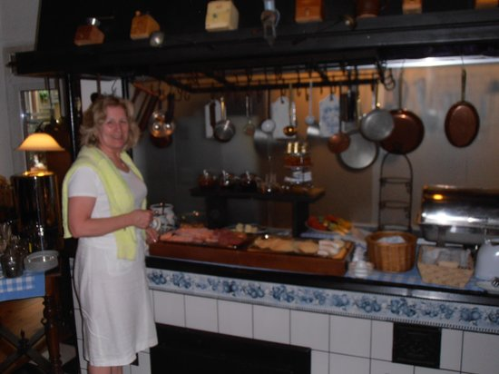 Hotel Altberlin : The breakfast selection