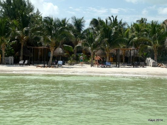 Holbox Dream Beach Front Hotel by Xperience Hotels: hotel desde el mar