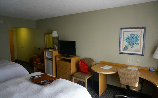Hampton Inn & Suites by Hilton San Jose Airport : The room
