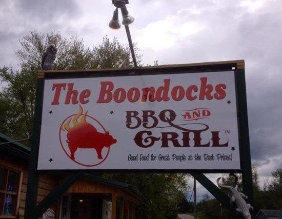 Boondocks BBQ and Grill: boondocks