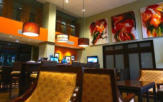 Hampton Inn & Suites by Hilton San Jose Airport : Breakfast room