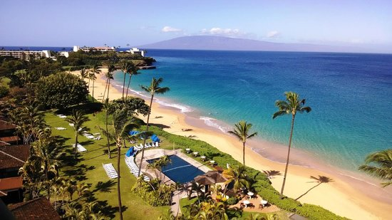 Royal Lahaina Resort : Ocean Front Suite from Tower
