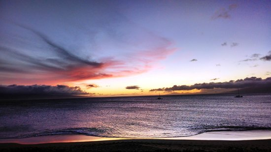 Royal Lahaina Resort: Sunset