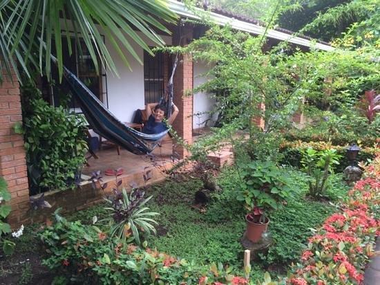 Hotel Escape Caribeno : En la puerta de la habitación