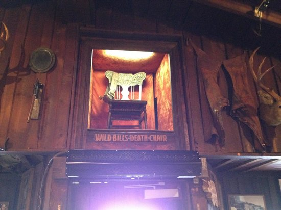The Deadwood Social Club: Wild Bill's chair