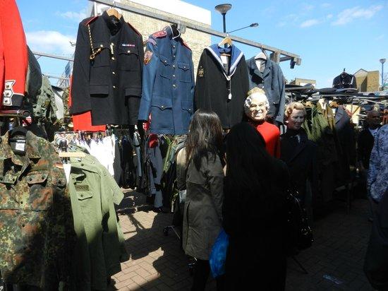 Portobello Road Market: Military