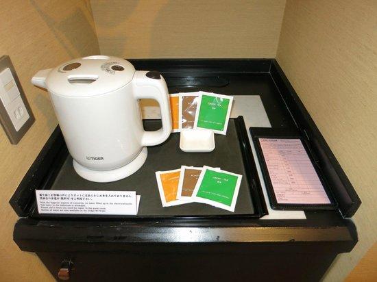JR Tower Hotel Nikko Sapporo: お茶は無料