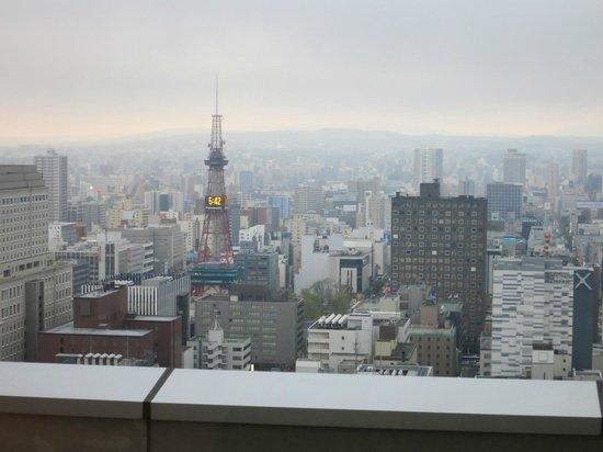 JR Tower Hotel Nikko Sapporo: 札幌テレビ塔が「見えます