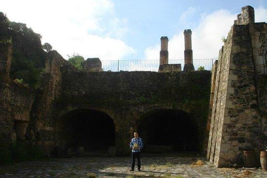Hacienda Santa Maria Regla : chimeneas