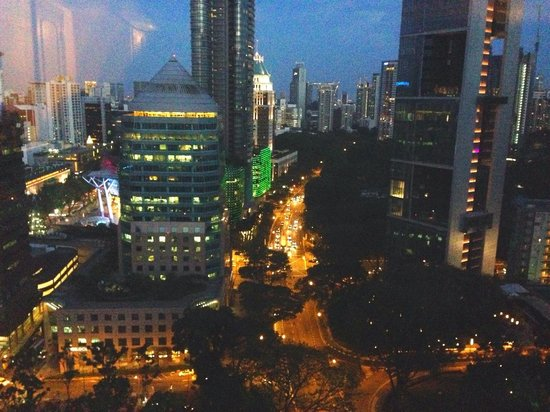 Four Seasons Hotel Singapore: My room's view