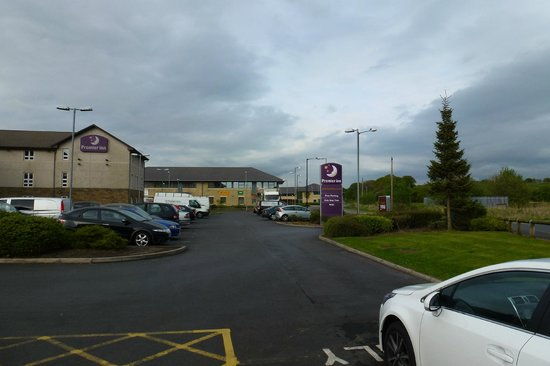 Premier Inn Lancaster Hotel: Car park view