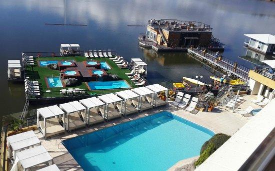 Hotel Potrero de Los Funes: Vista a las piletas