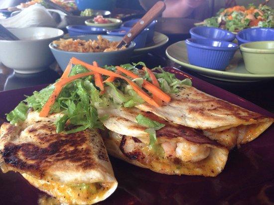 Habaneros: Chipotle shrimp tacos