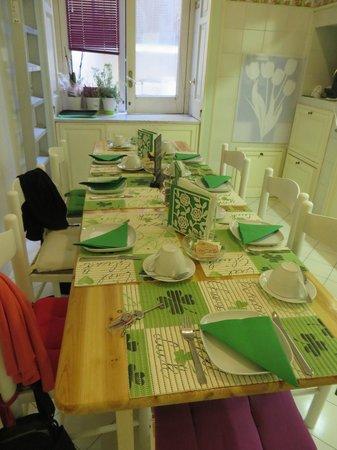 Palazzo Starace Bed & Breakfast: Breakfast room