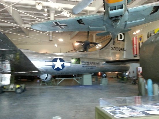 National Museum of the Mighty Eighth Air Force : B17 from WW II