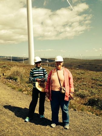 Wild Horse Renewable Energy Center : Hard hats and goggles are provided.