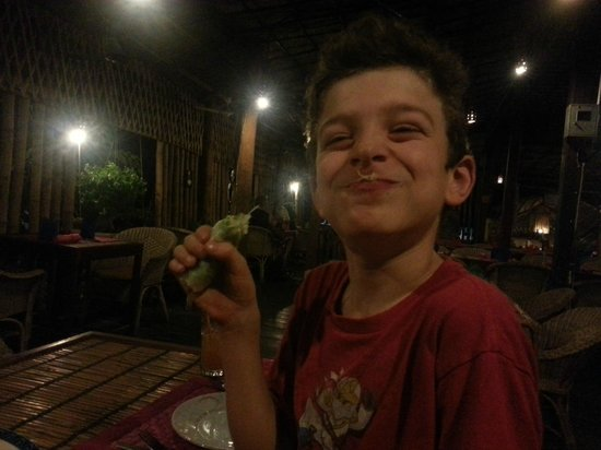 Kitchen Angkor Chey: Happy customer!
