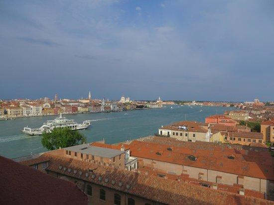 Hilton Molino Stucky Venice Hotel: View from Skyline Bar